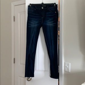 Dark Washed Justice Jeans